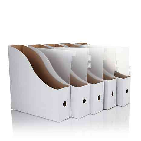 12x12 paper organized with Totally-Tiffany - PSB Dividers in Paper Storage Boxes