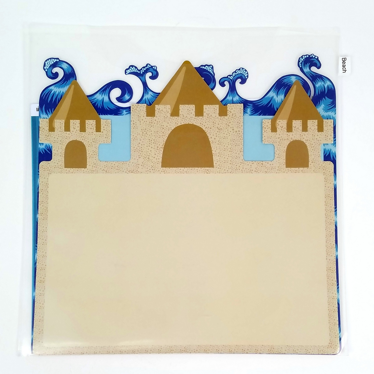12x12 Paper Pocket with die cut paper
