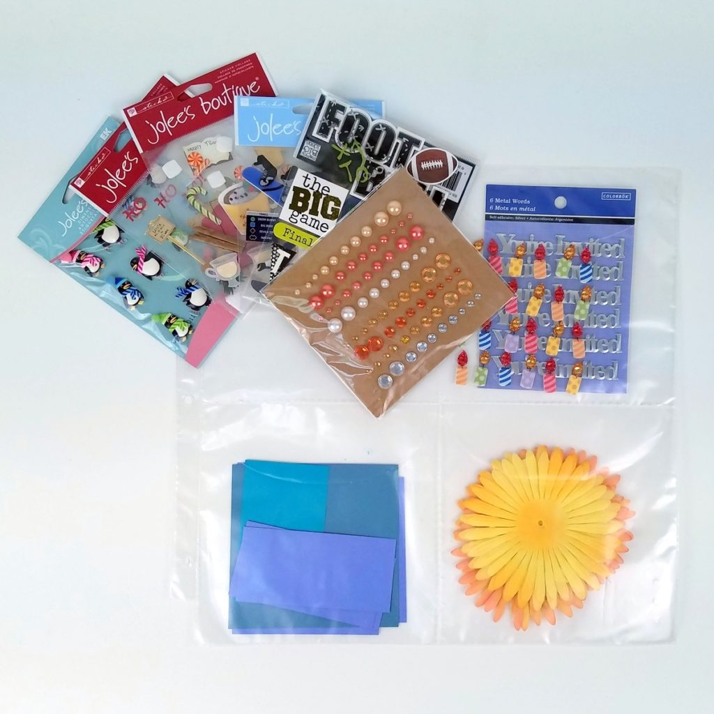 6 dimensional items in 1 pocket