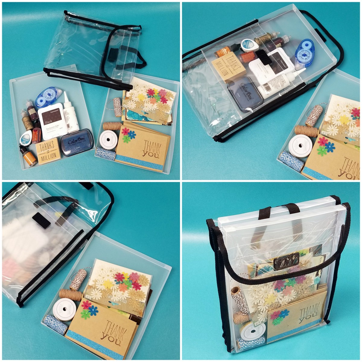 Card making project organizer