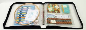 Use the Spinder Binder to organize quilting, sewing, or needlecraft projects