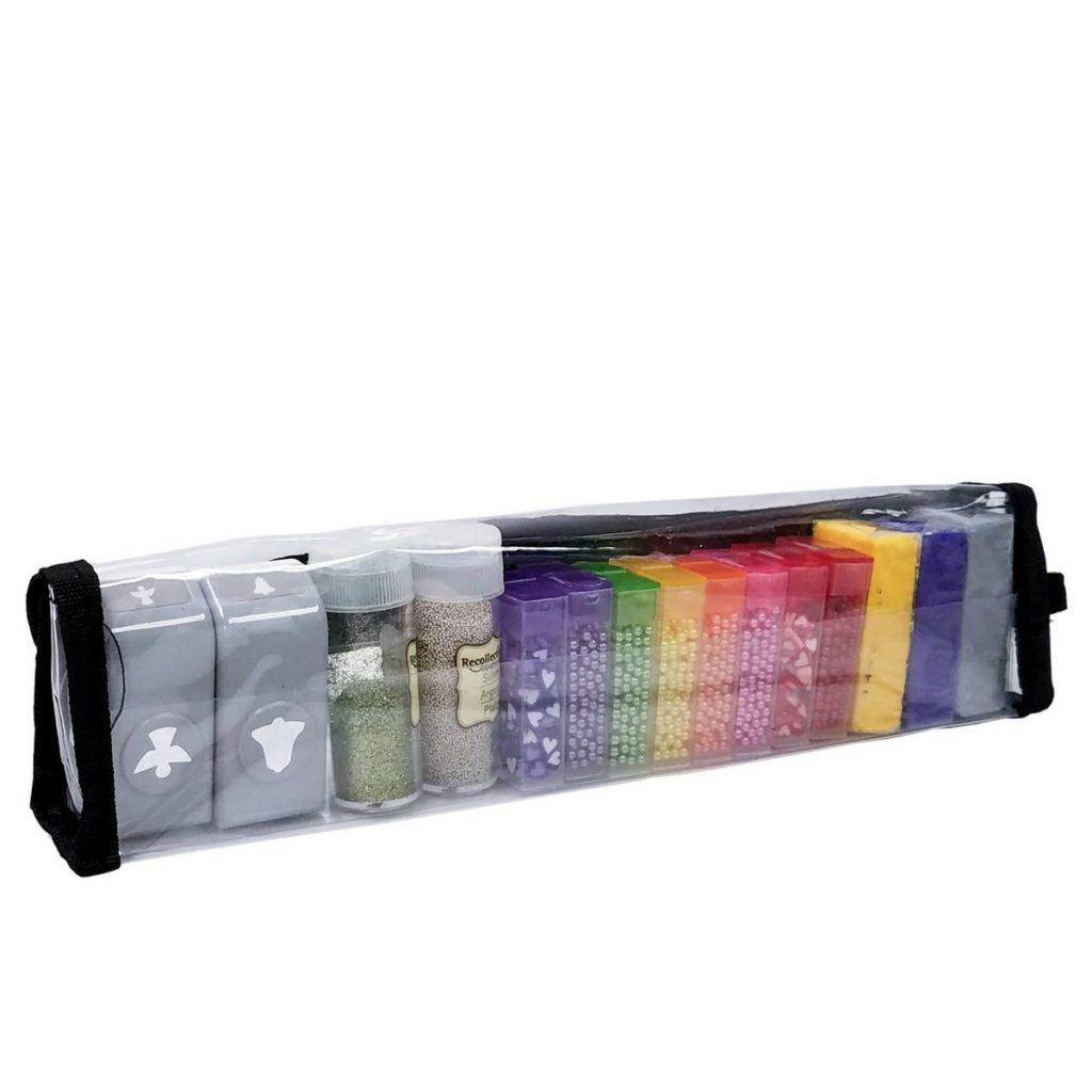 Craft supplies in the Teresa Buddy Bag