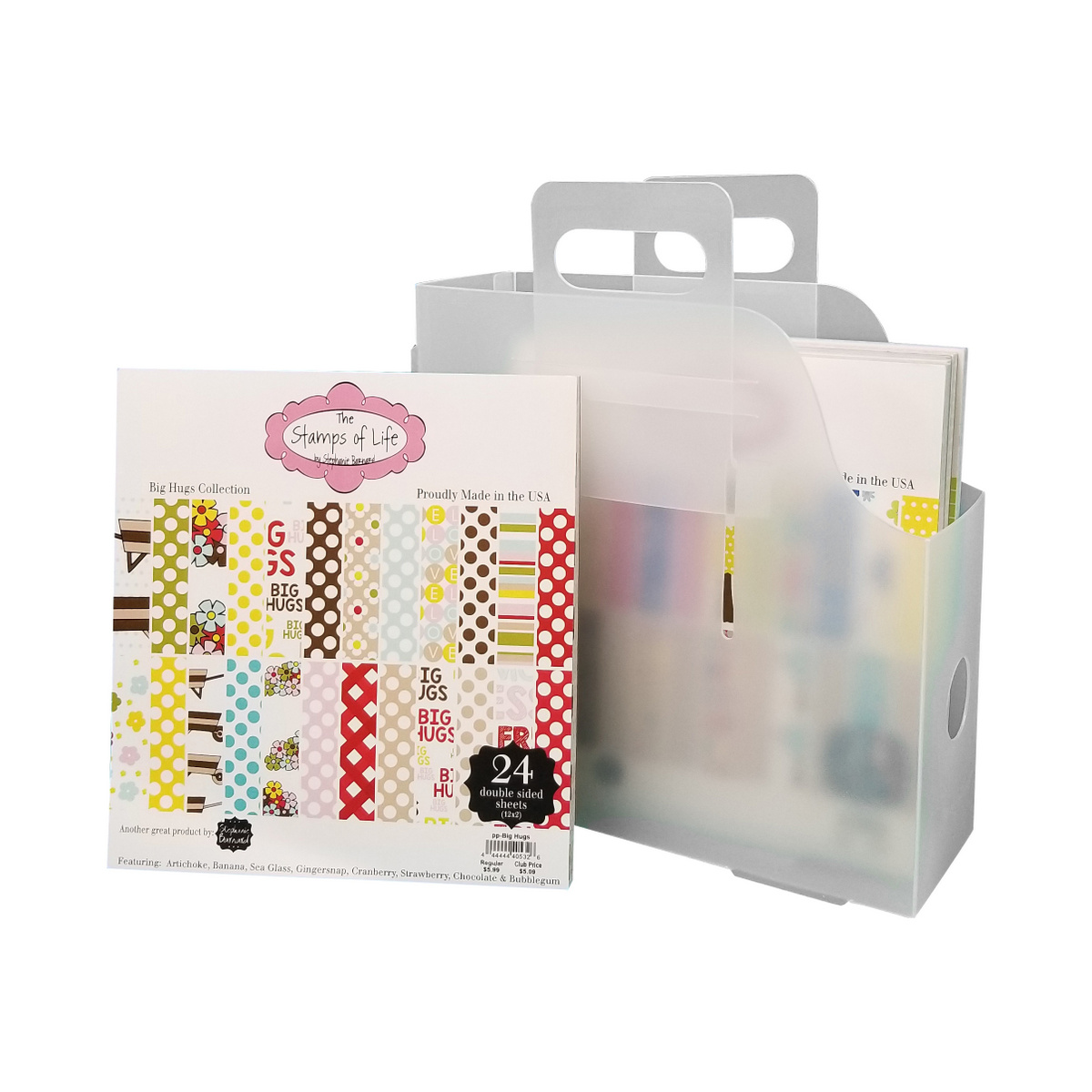 6x6 Paper Storage for Stephanie Barnard paper pads.