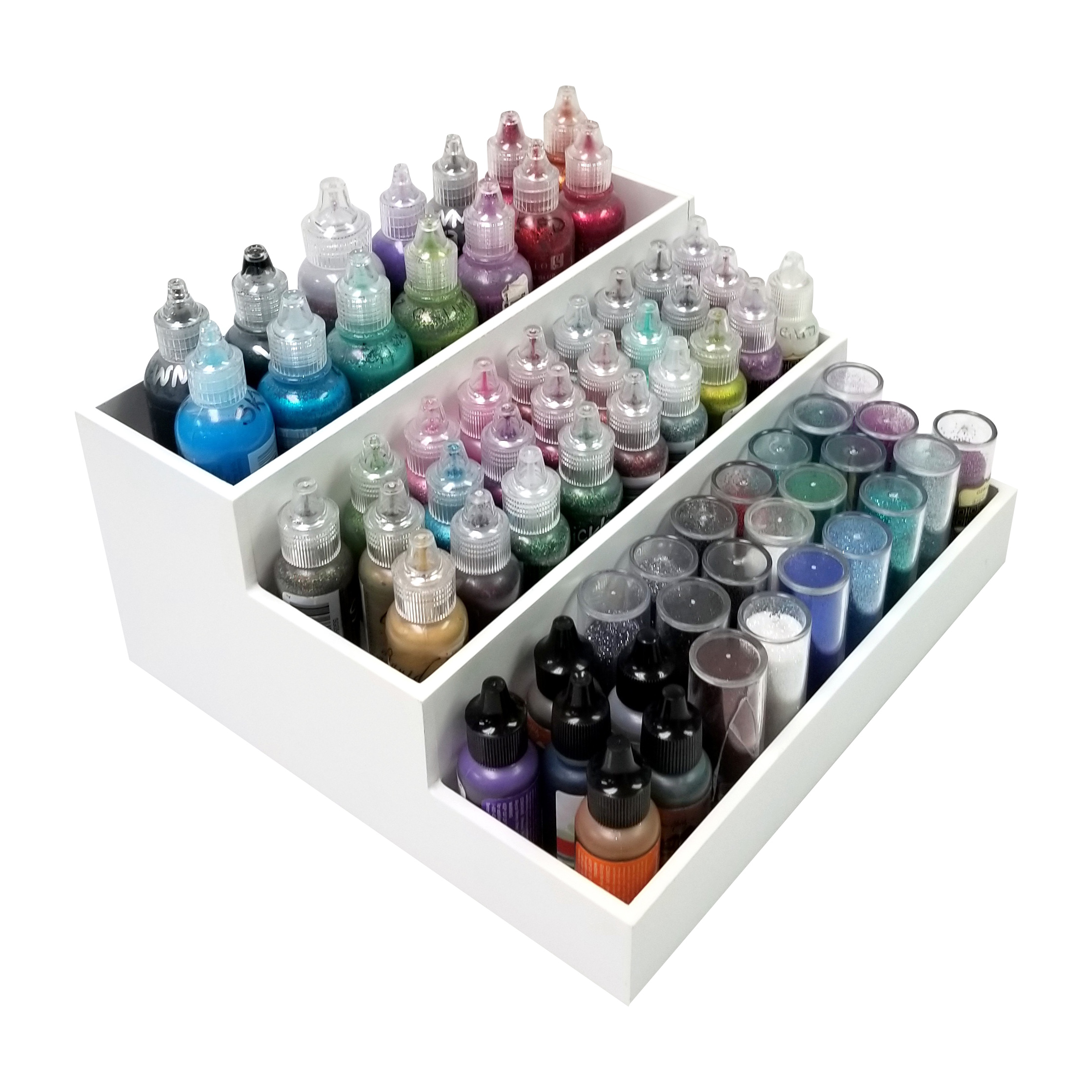 Organize stickles, glitter glue, re-inkers, glitter Desk Maid by Totally-Tiffany