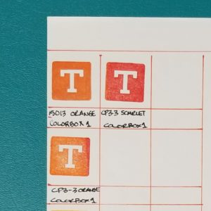 Create a color catalog with Totally-Tiffany