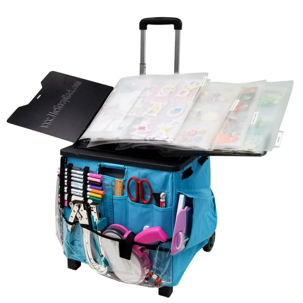 ScrapRack store and transport in the Craft Crate. HSN
