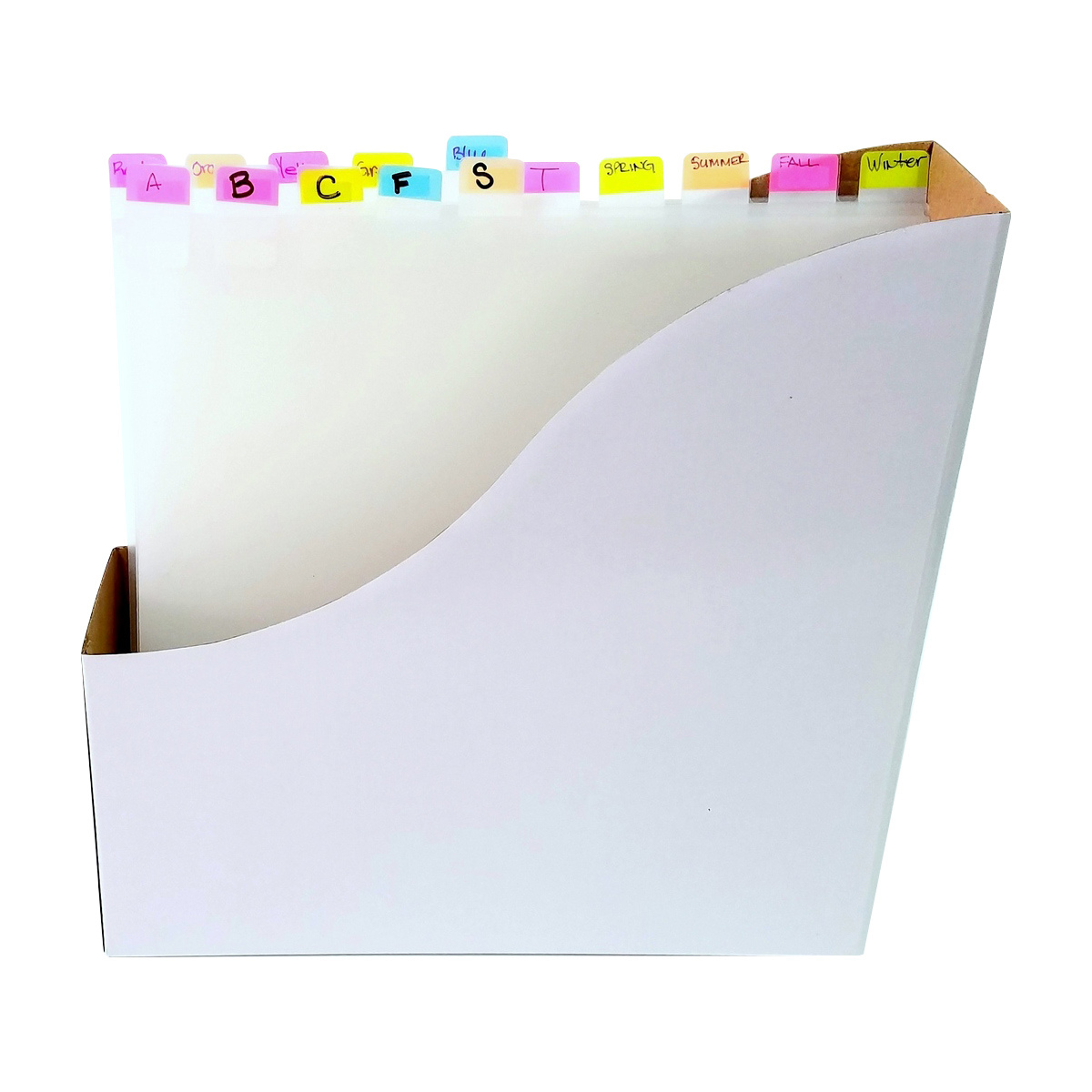 Organize paper with our dividers and tabs. Totally-Tiffany.com
