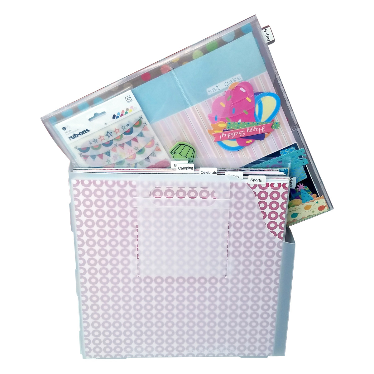 Paper Manager, 12x12 Paper storage and organization from Totally-Tiffany.