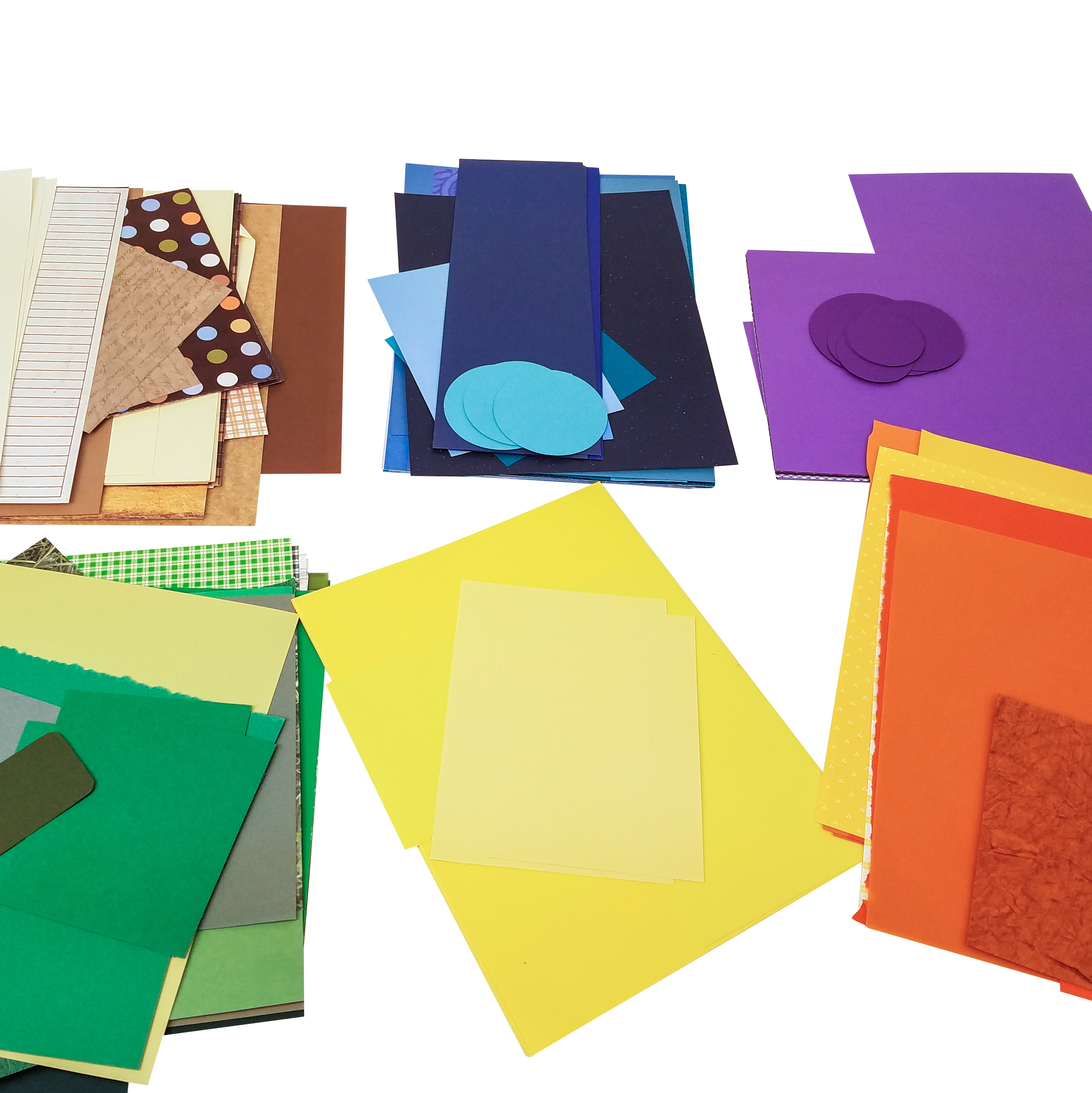 Organize paper scraps from scrapbooking with THe ScrapRack from Totally-Tiffany