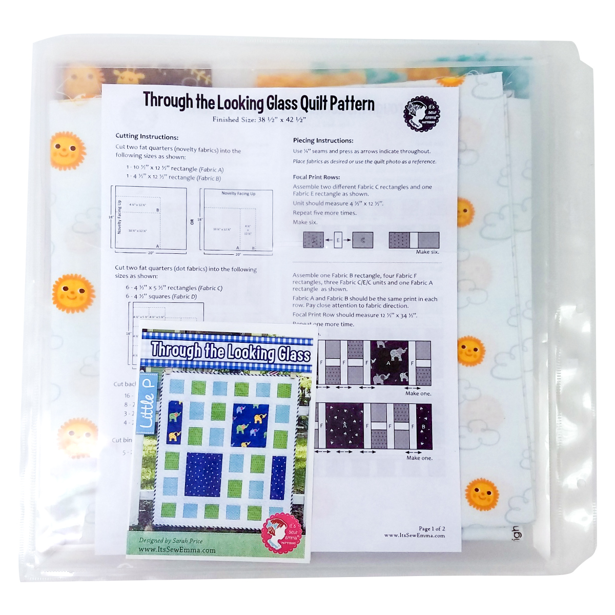 Quilting projects organizer - the Expanding Project Planner by Totally-Tiffany.