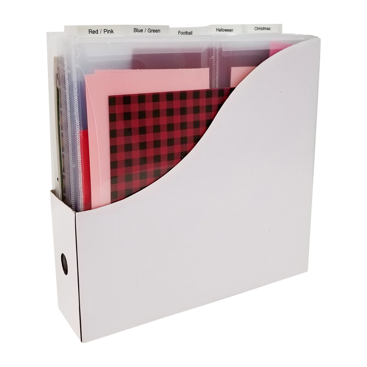 12x12 tabbed divider pockets or the ScrapMaster paper storage solution, Totally-Tiffany