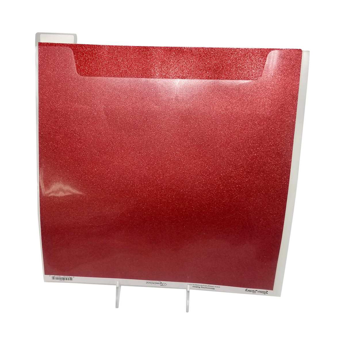 12X12 Tabbed Divider pockets are perfect glitter paper storage. Totally-Tiffany Fab File product line