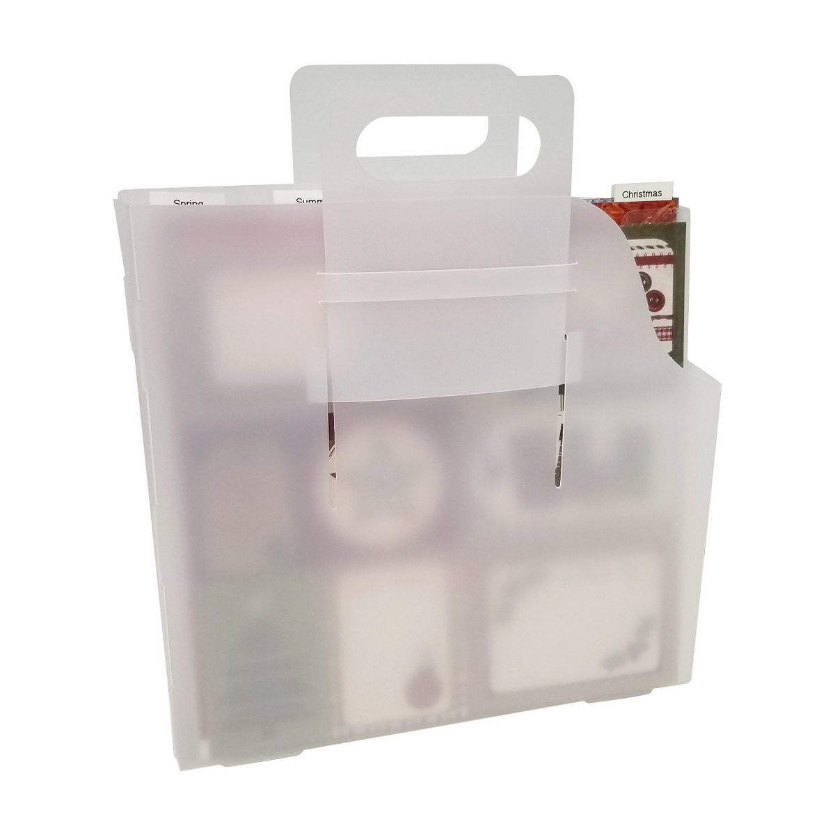 12x12 Paper Organization combo - carry box and divider pockets, Totally-Tiffany.com, A32, RF-XL5PK