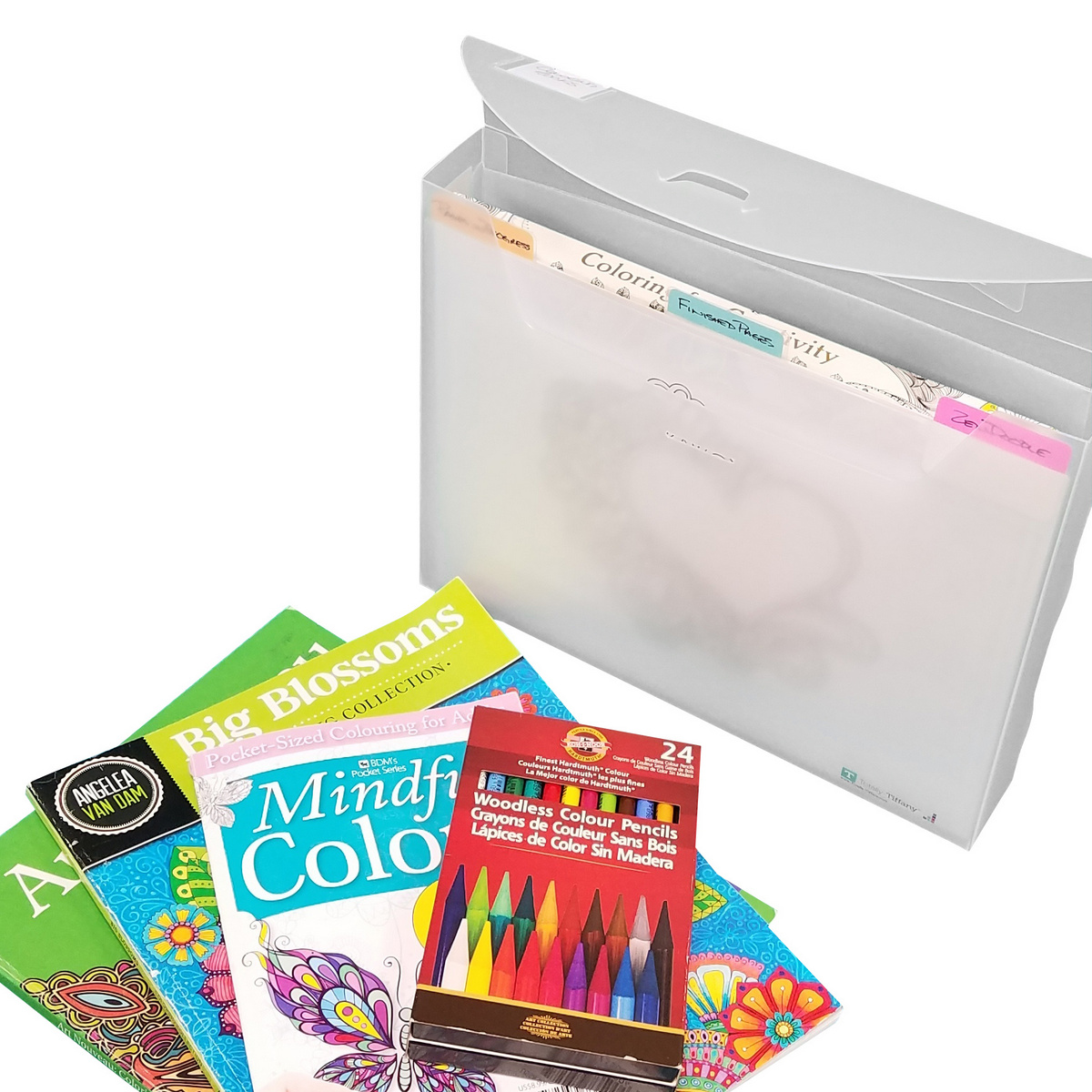 Adult coloring supply storage FFA4