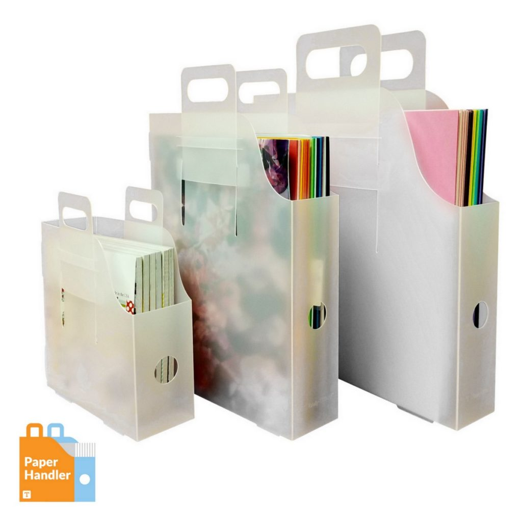 Organize Paper for scrapbooking, card making with Paper Handlers by Totally-Tiffany