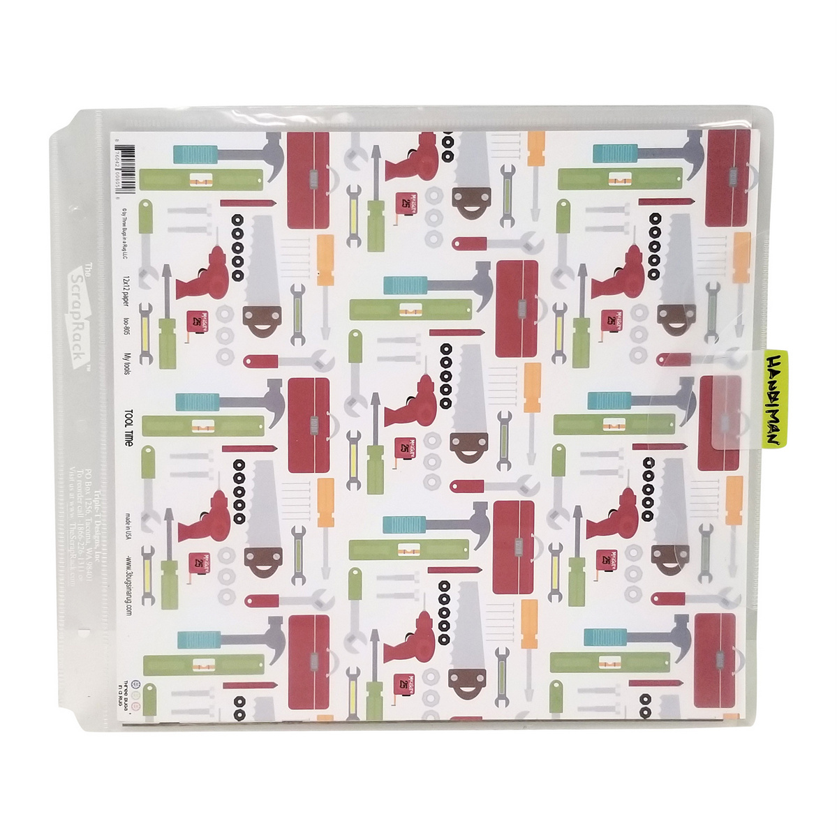 Organize 12x12 paper by theme, sideloadeer single, Totally-Tiffany P51