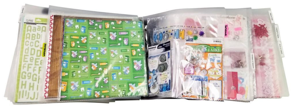 Organize 12x12 paper in your ScrapRack by theme, Totally-Tiffany HSN