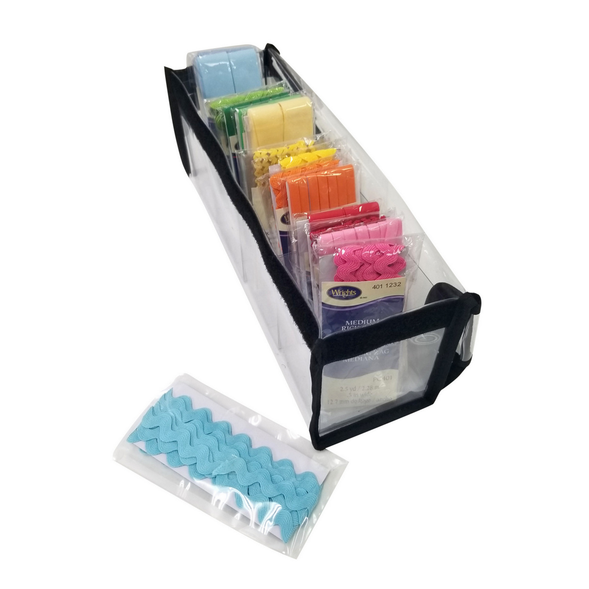 Organize sewing supplies, bias tape, trims, lace - Totally-Tiffany Katya Buddy Bag sng20