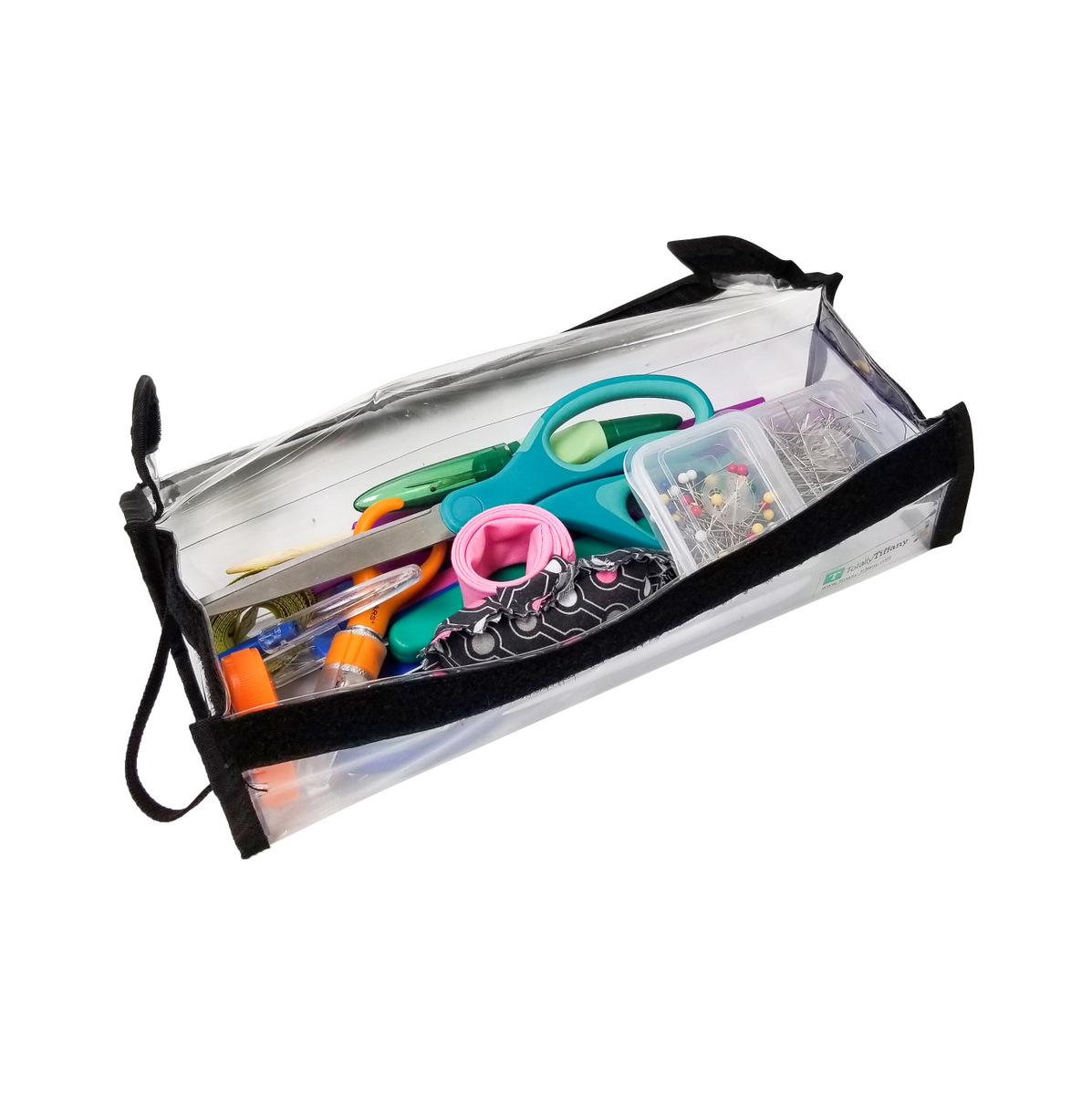 Organize sewing tools, zippers, thread with Totally-Tiffany.com