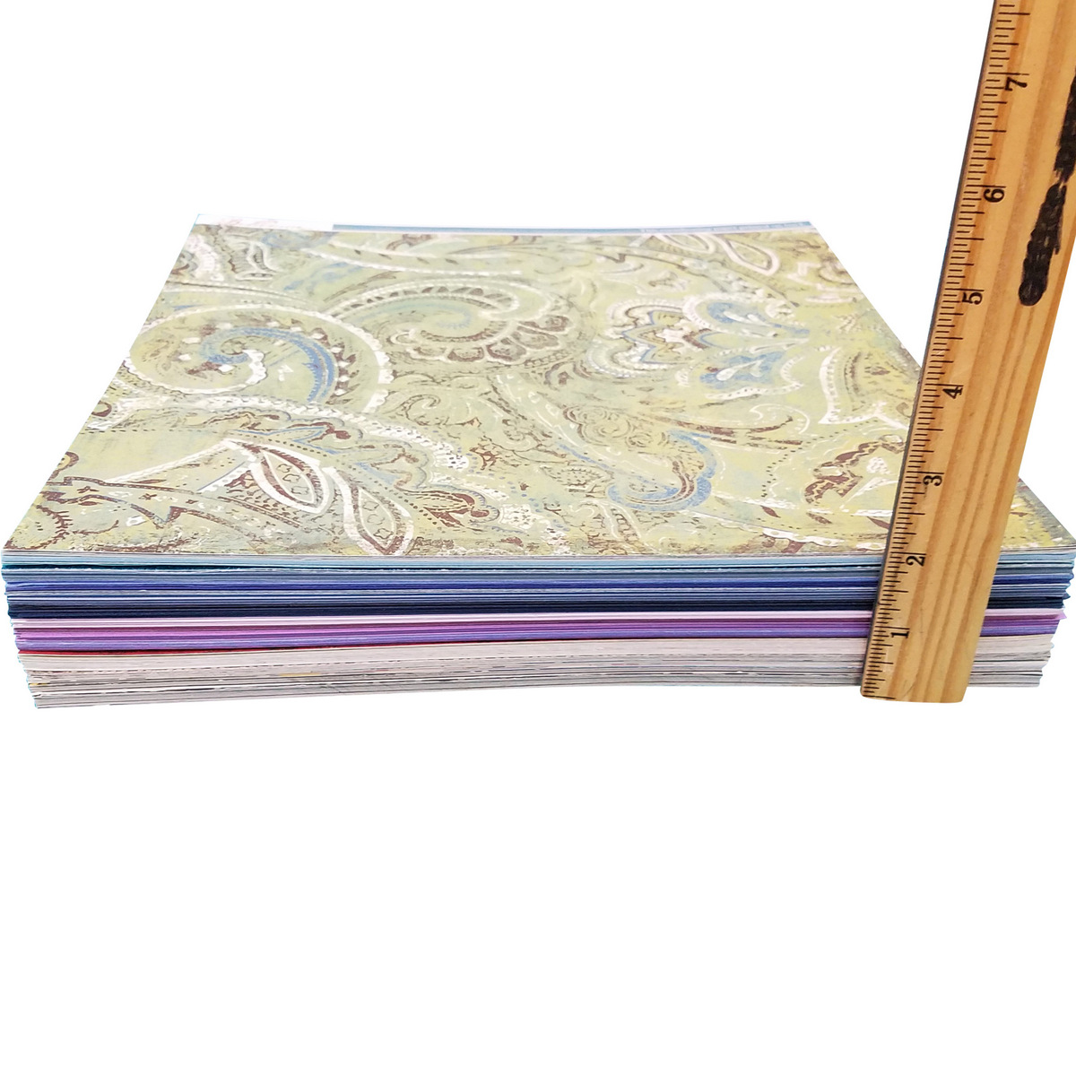 Measure your paper stack, organize paper Totally-Tiffany