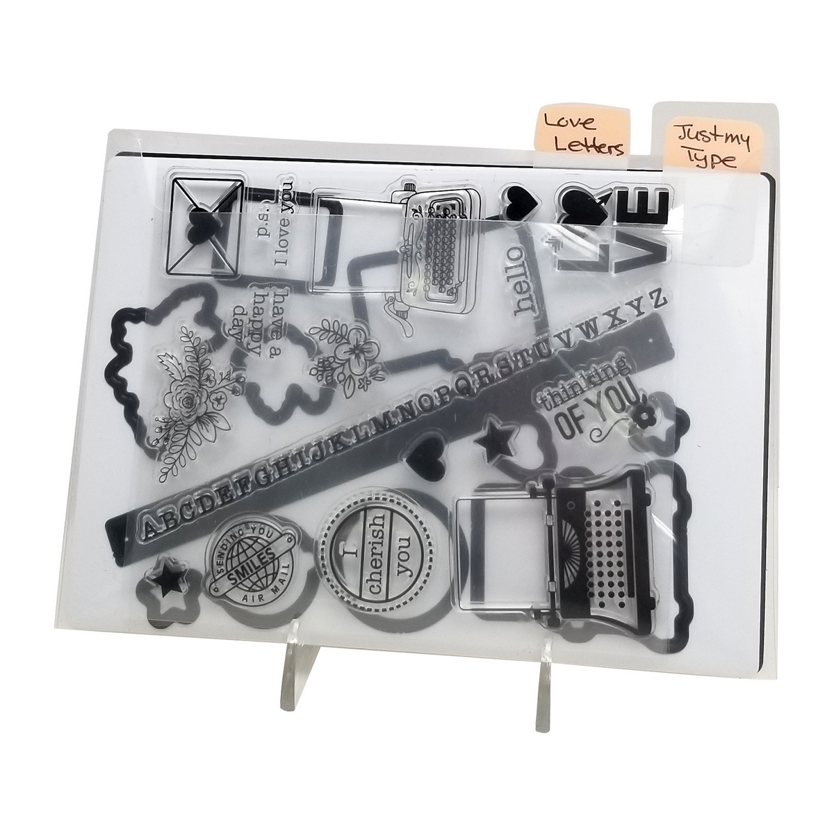 Organize 2 sets of dies & stamps in 1 pocket, Totally-Tiffany