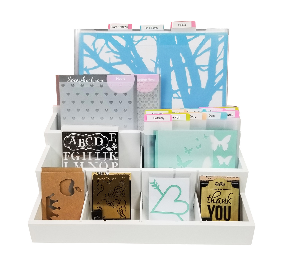 Organize Stencils, DSST, Totally-Tiffany
