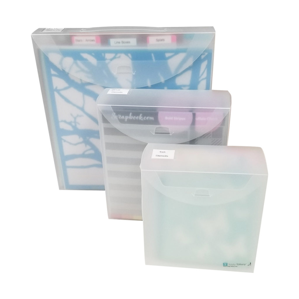 Organize all sizes of Stencils with Totally-Tiffany