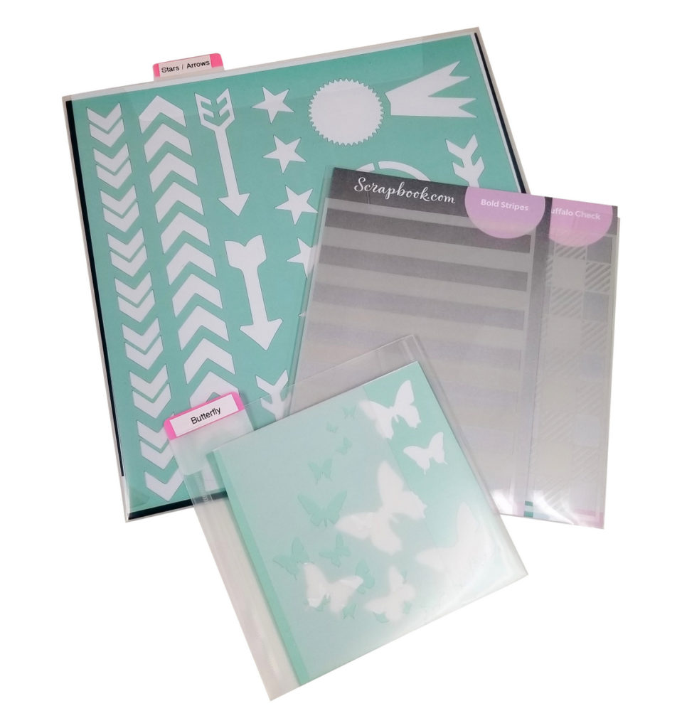 Organize Stencils 12x12, 6x6, 6x8 and more with Totally-Tiffany