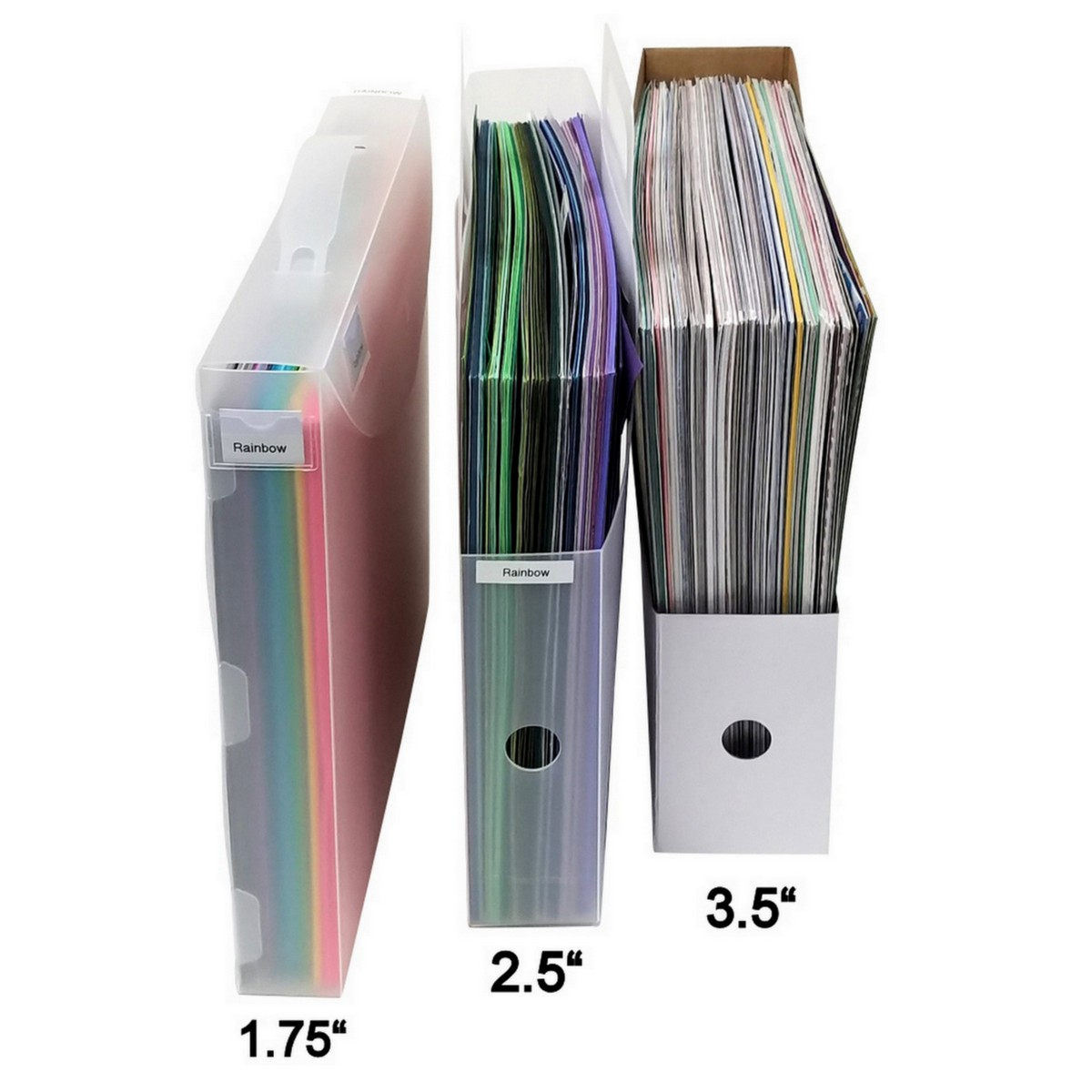 12X12 Paper Organizers with Dimensions A32, XL31, A26