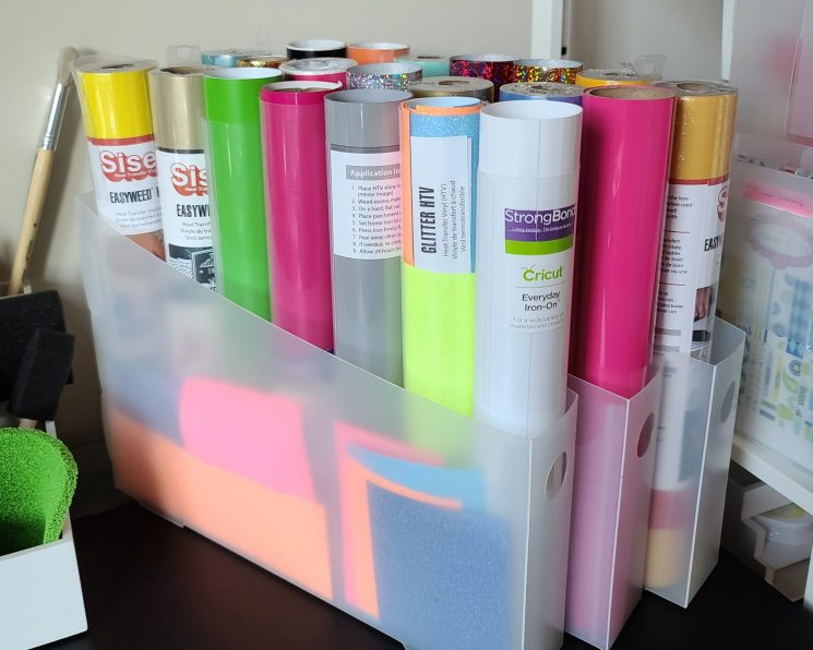 Tips and Tricks for using the Totally-Tiffany Vinyl Roll Organizer