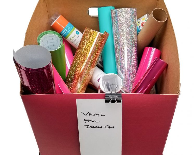How to use the Totally-Tiffany Vinyl Roll Organizer