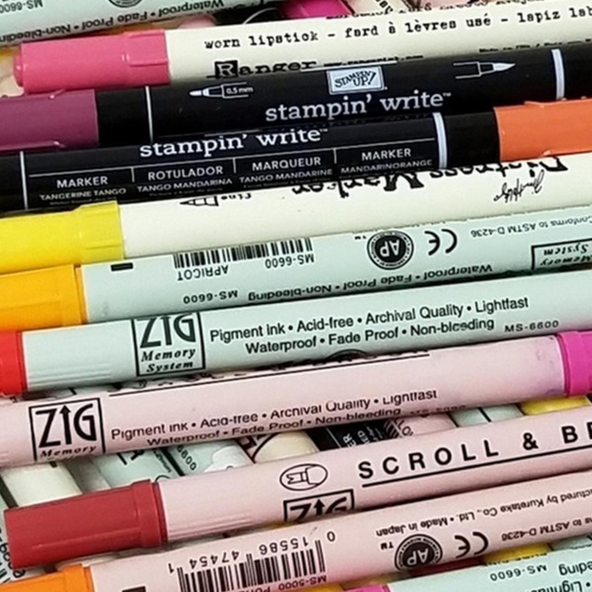 Pen, Pencil & Marker Organizers